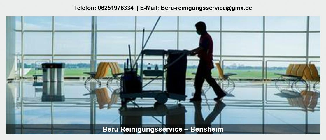 Gebäudereinigung Lindenfels - Beru Glas- und Reinigungsservice e.K.: Glasreinigung, Bauendreinigung