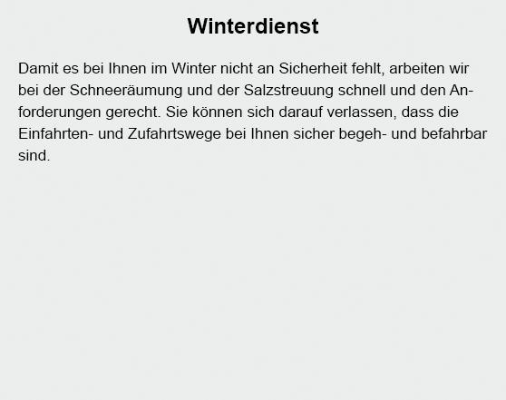 Winterdienst in der Nähe von  Birkenheide